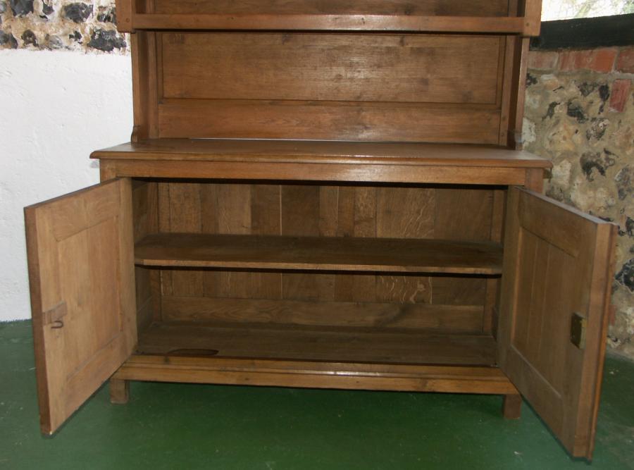 Oak gun cabinet dresser cupboard