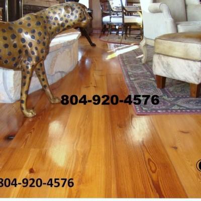 Reclaimed # 1 Heart Pine Flooring