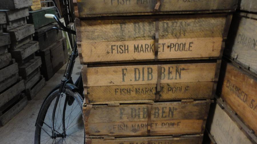 original 'world war' fish ration boxes