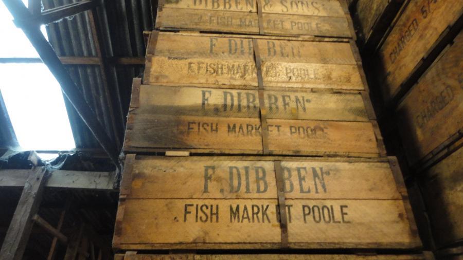 original 'world war' fish ration boxes