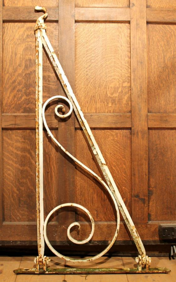 Reclaimed Wrought Iron Victorian Hanging Brackets