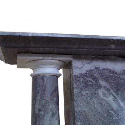 George III Ashburton marble fire surround
