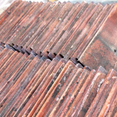 Reclaimed Red Acme Sandstorm Machine Made Clay Roof Tiles