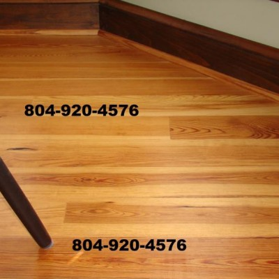 Antique Heart Pine Flooring For Sale
