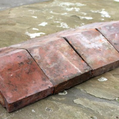 Reclaimed Terracotta Clay Coping Stones