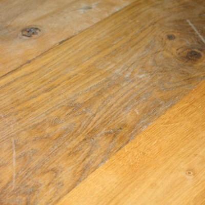 """Reclaimed 7"""" Wide T&G Rustic Oak Flooring / Cladding Board"""
