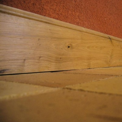 Antique Oak Skirting Boards