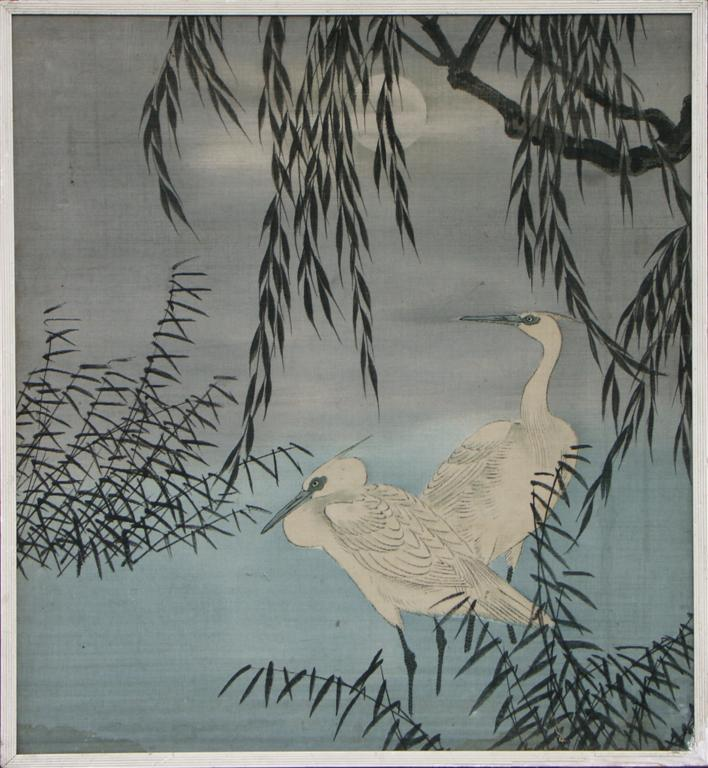 antique japanese fabric pictures