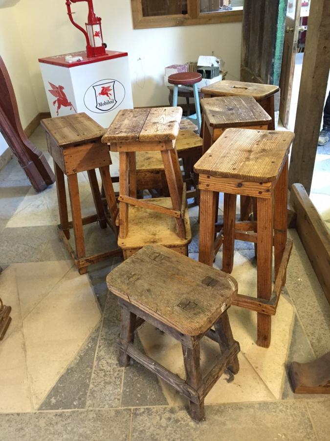 Old Pine Stools