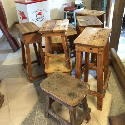 Old Pine Stools