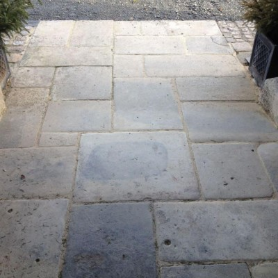 Antique French Limestone Flagstones