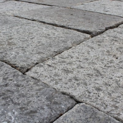 Antique Reclaimed Flagstones In Volcanic Stone
