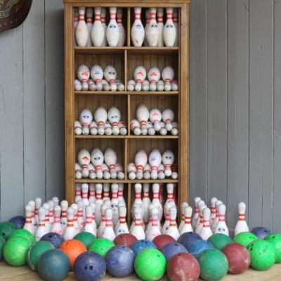 120 Original Ten Pin Bowling Alley Balls