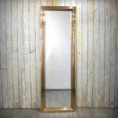Deco Style Full Length Brass Framed Mirrors