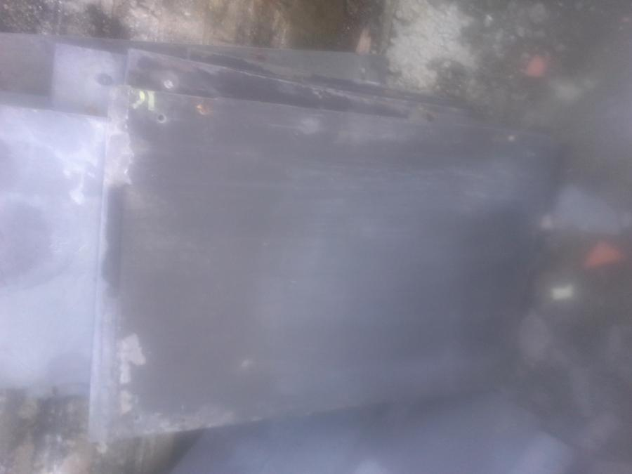 Reclaimed welsh slate cladding/flooring