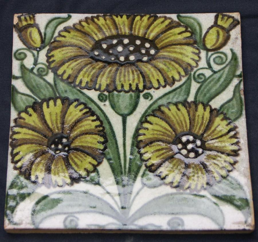 William De Morgan antique tiles