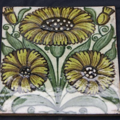 William De Morgan antique tiles