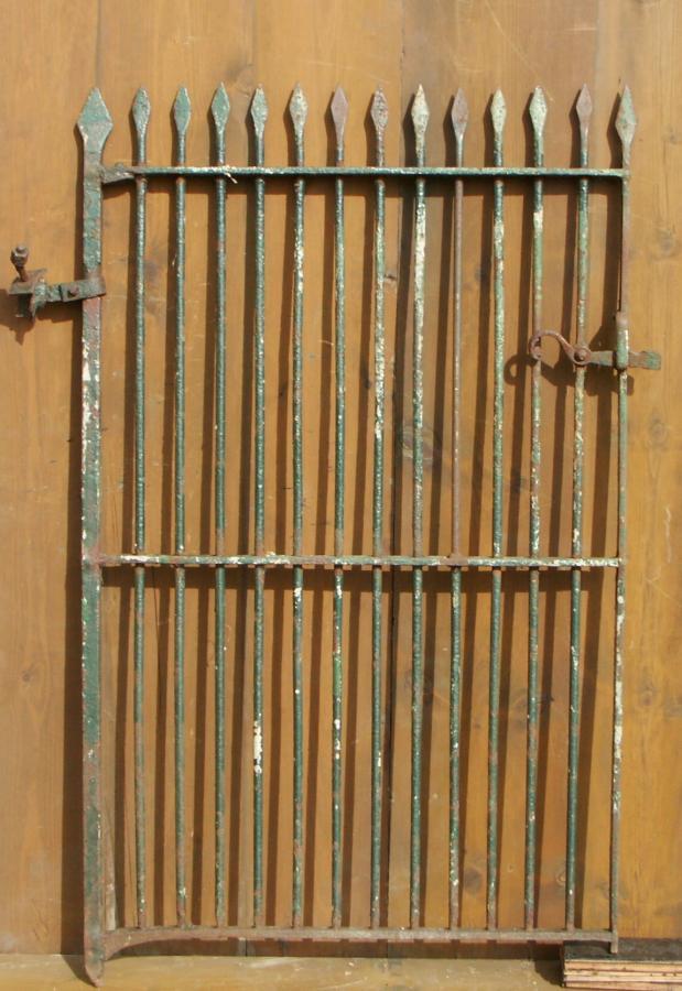 antique wrought iron pedestrian gate