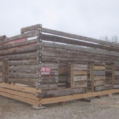 c. 1860 Dovetail Hemlock Log Home Shell