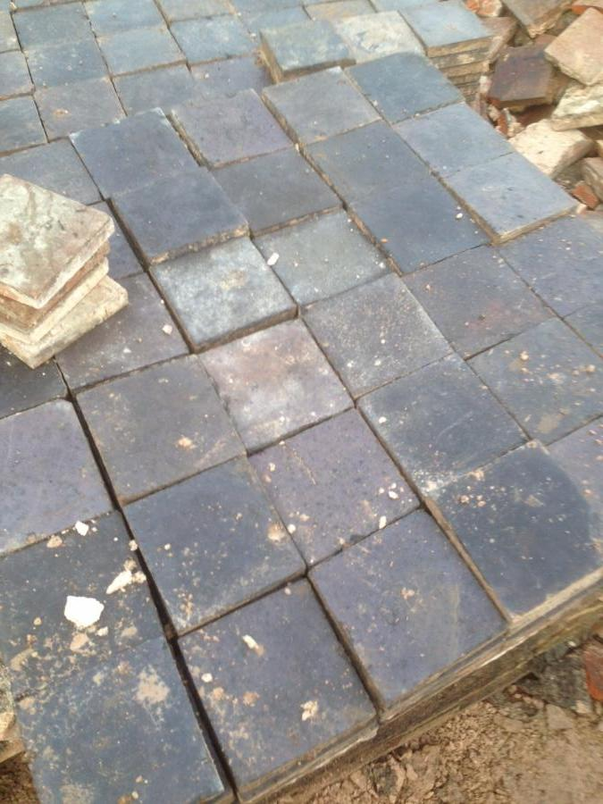 For Sale Reclaimed Staffordshire Blue Victorian 6 Quot X 6