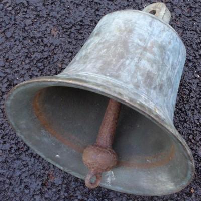 Antique bronze bell