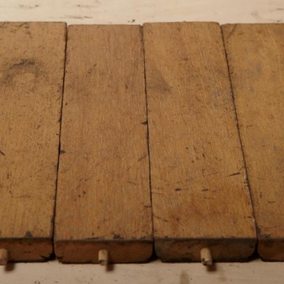"Mahogany Blocks.12"" long x 3"" wide x 1"" thick. Fully cleaned of bitumen. Cleaned on edges and ends. Kiln dried to 9-11% MC."