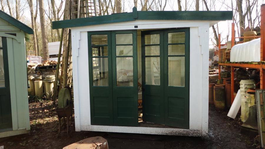 original victorian revolving summerhouse