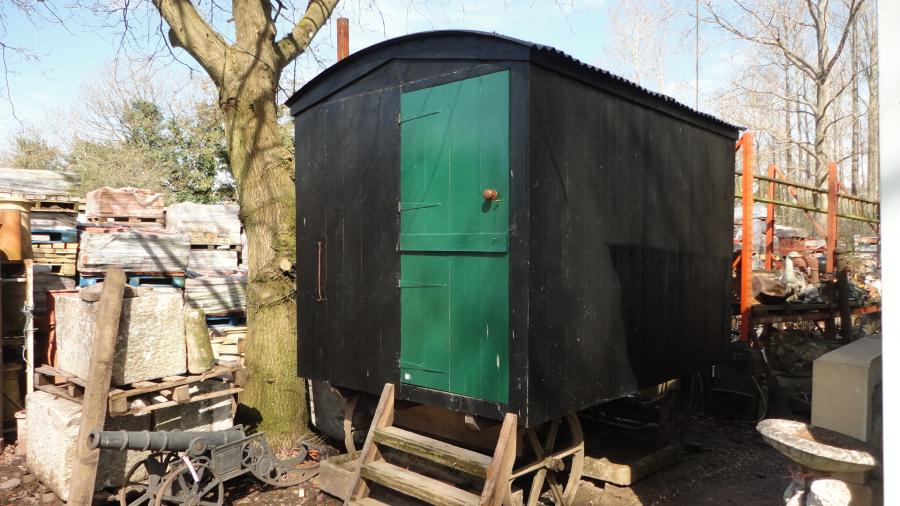 shepherds hut, fully restored