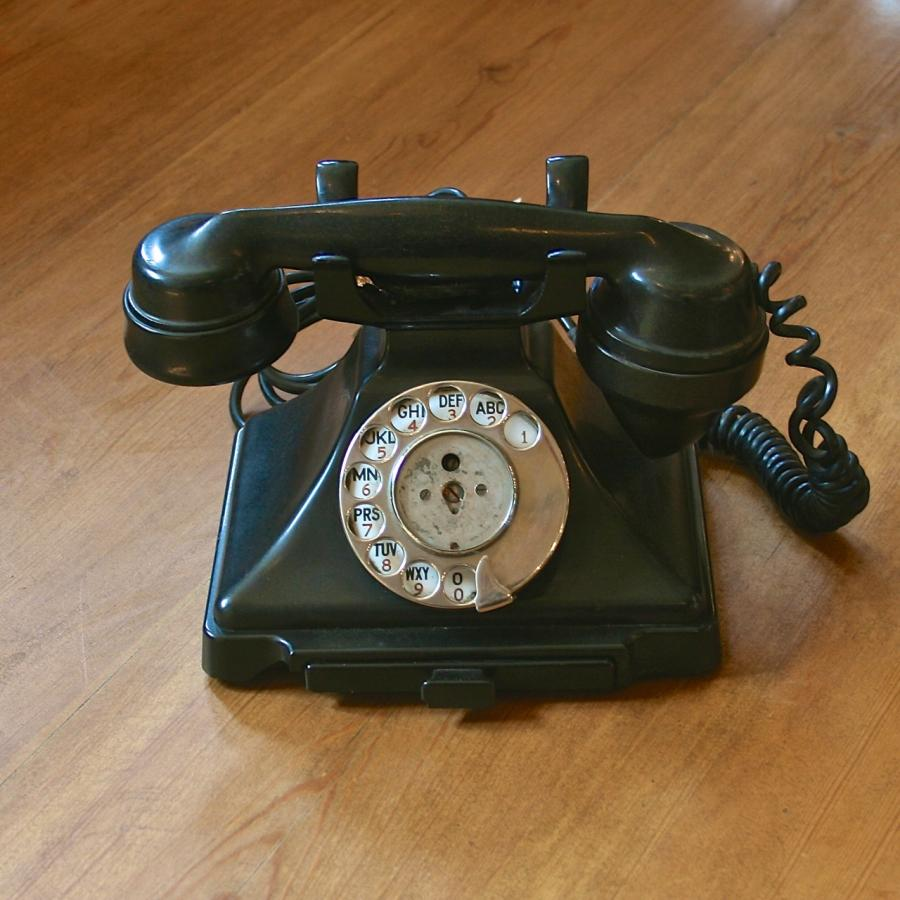 Original Vintage 1940s Telephone