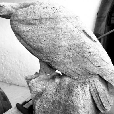 Eagle Statue from Robert Korn, Berlin- Statue d´Aigle