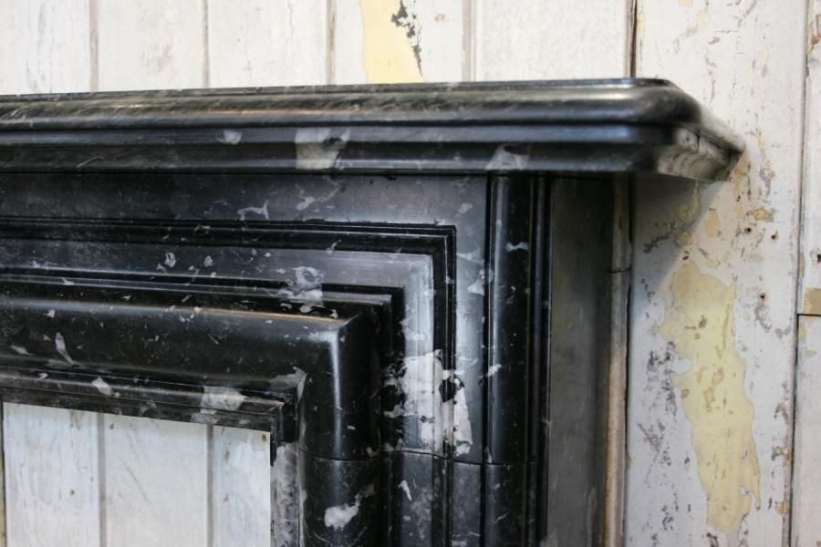 For Sale Antique Black Marble Fire Surround Salvoweb Uk