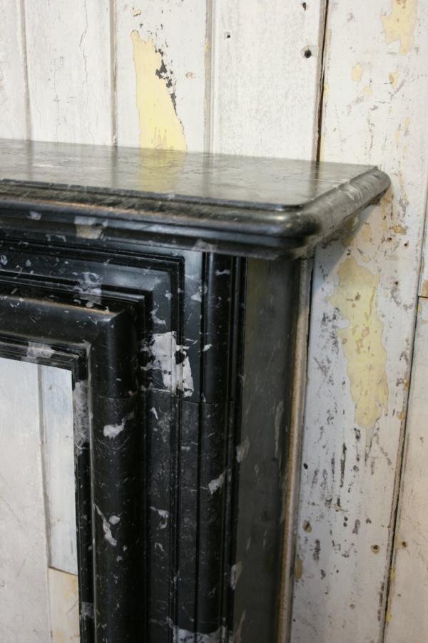 For Sale Antique Black Marble Fire Surround Salvoweb Uk