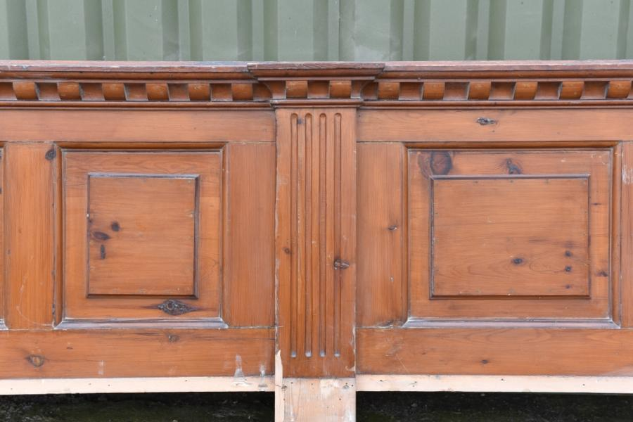 27 metres 19th century dado low panelling
