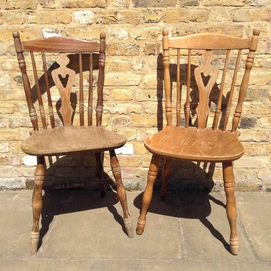 Pair Of Reclaimed Chairs