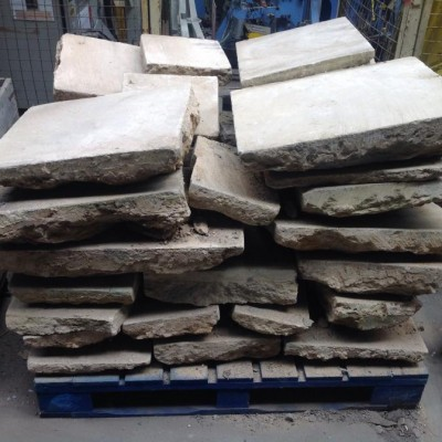 Reclaimed Cotswold flagstones