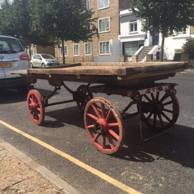Antique Costermonger's Wooden Cart
