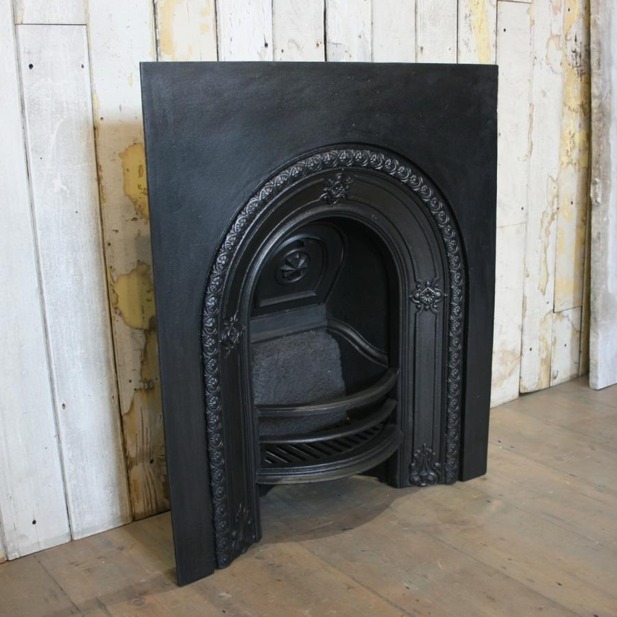 Swell For Sale Antique Victorian Arched Fireplace Insert Salvoweb Uk Home Interior And Landscaping Ologienasavecom