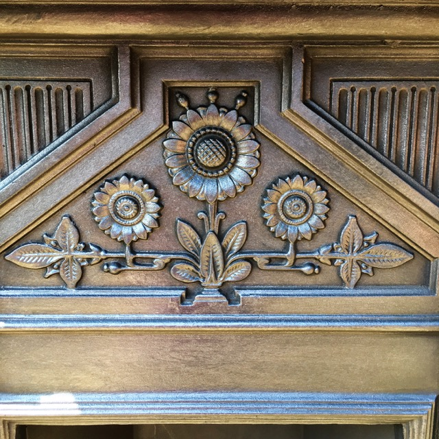 Reclaimed Victorian Combination Fireplace