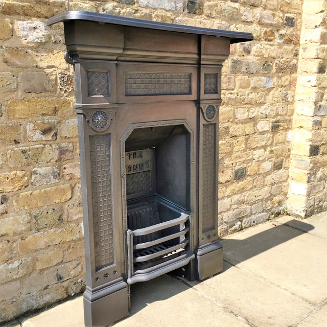 Reclaimed Cast iron Combination Fireplace