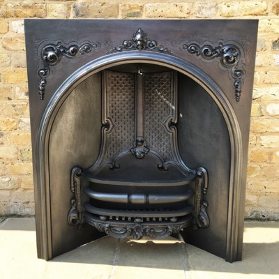 Reclaimed Victorian Fireplace Insert