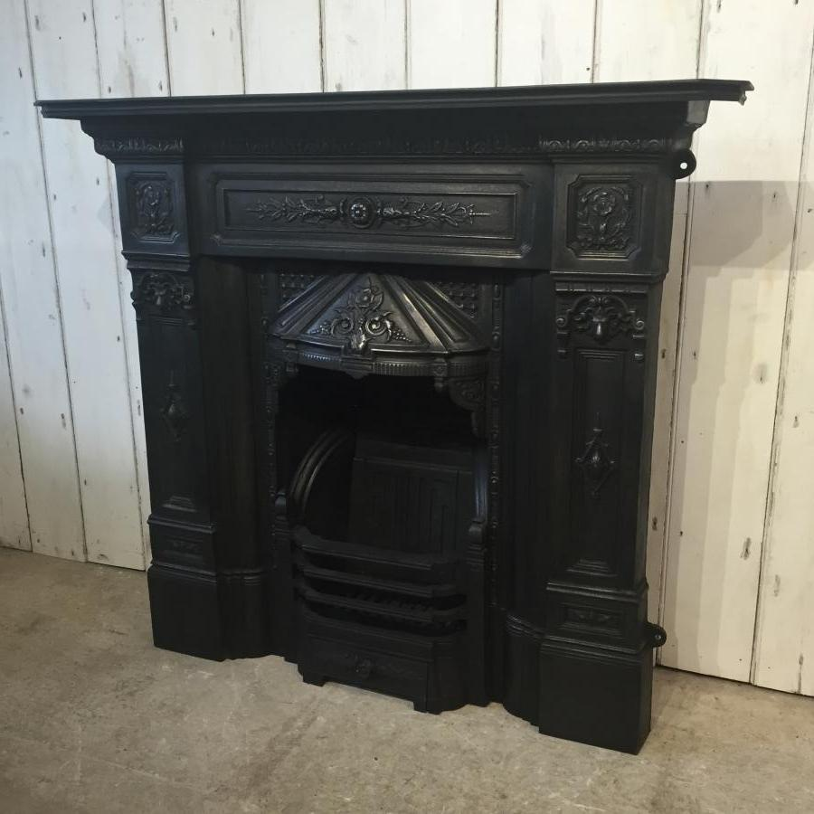 Reclaimed Combination Fireplace