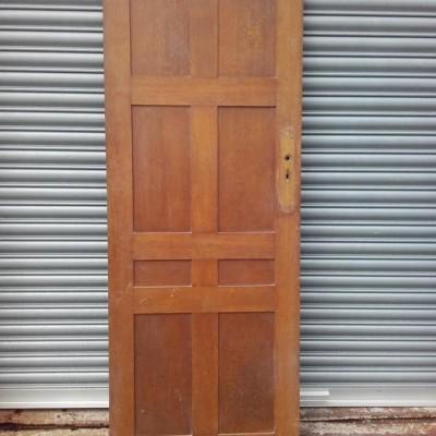 Original Oak 1930's Door.