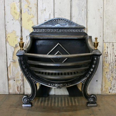 Polished Reclaimed Fire Basket