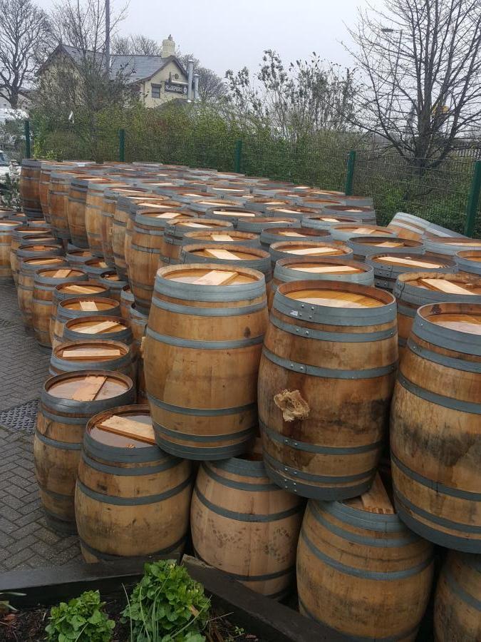 For Sale Reclaimed Oak Wine Barrels Salvoweb Uk