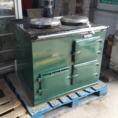 AGA Gas Converted Cooker