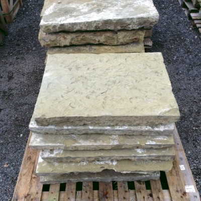 Reclaimed Old Yorkstone Paving
