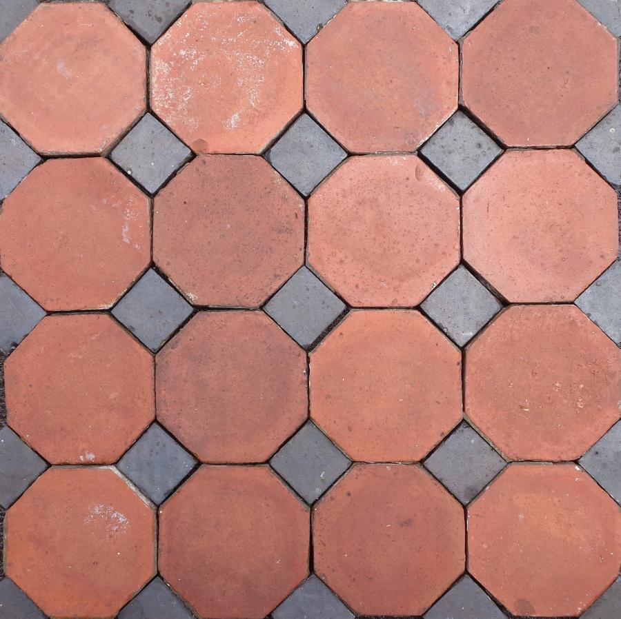 For Sale Victorian Octagonal Quarry Tile Floor Salvoweb Uk