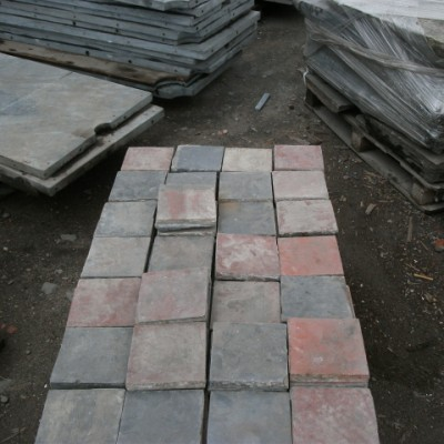 6x6 quarry tiles