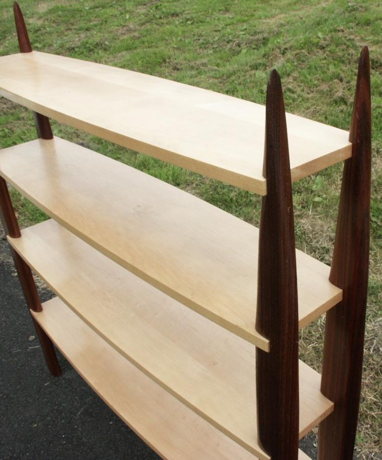 Rosewood + Sycamore Shelves/ Display