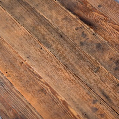 """Victorian Pitch Pine Tongue and Groove Floorboards 4.25"""" Wide"""